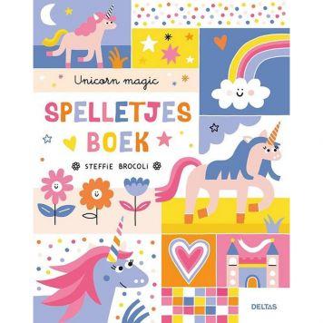 Boek Unicorn Magic Spelletjes