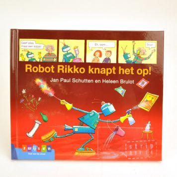 Boek AVI E4 Stripverhaal Robor Rikko Knapt Het Op