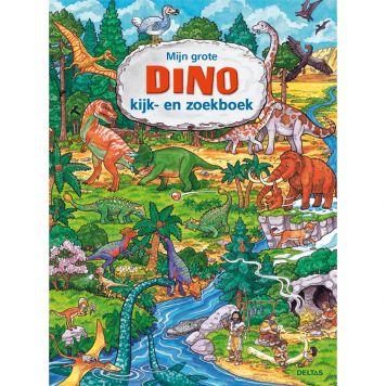 Boek Mijn Grote Dino Kijk-En Zoekboek