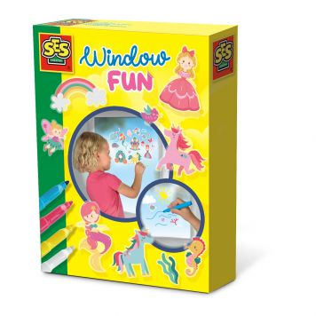 SES Window Fun Prinsessen Wereld