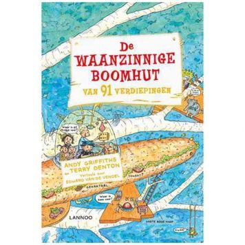 Boek De Waanzinnige Boomhut Van 91 Verdiepingen