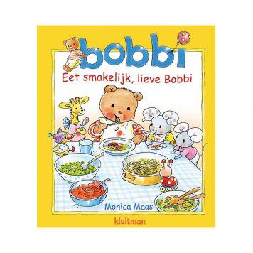 Boek Bobbi Kartonboek Eet Smakelijk, Lieve Bobbi