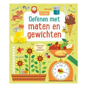 Boek Oefenen Met Maten En Gewichten