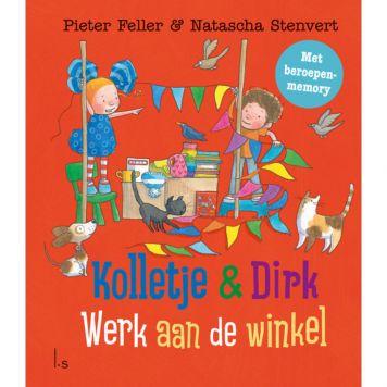 Boek Kolletje En Dirk -Werk Aan De Winkel