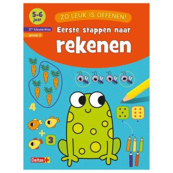 Boek Zo Leuk Is Oefenen - Eerste Stappen Naar  Rekenen (5-6 Jaar)