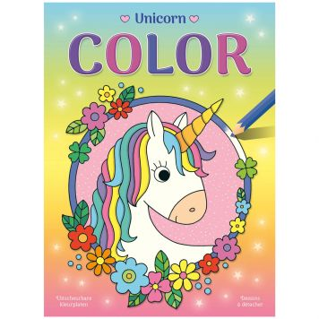 Kleurboek Unicorn Color