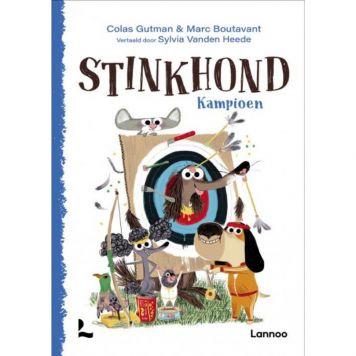 Boek Stinkhond Kampioen
