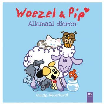 Boek Woezel & Pip Allemaal Dieren