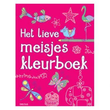 Kleurboek Het Lieve Meisjes Kleurboek