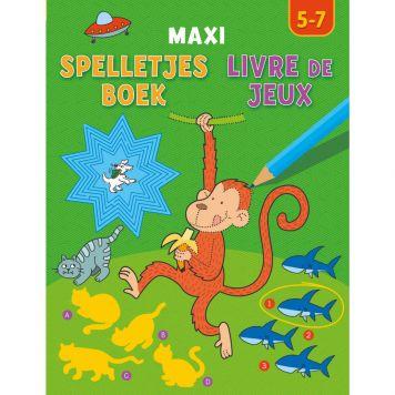 Boek Spelletjesboek Maxi