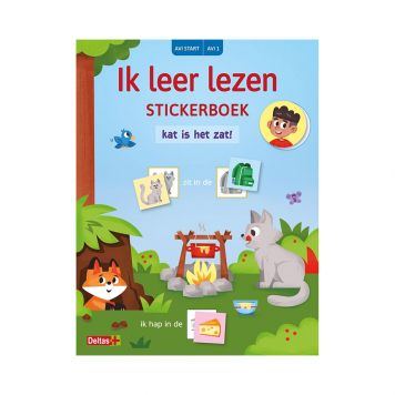 Stickerboek Leer Lezen Kat In De Zak AVI Start