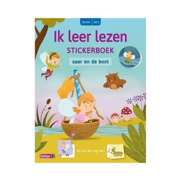 Stickerboek Leer Lezen Saar AVI M3