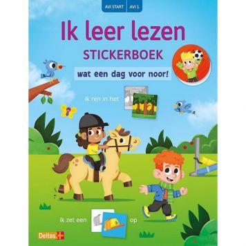 Stickerboek Ik Leer Lezen Avi Start Wat Een Dag Voor Noor!
