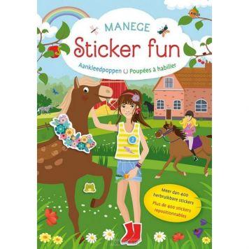 Manege Sticker Fun Boek Aankleedpoppen