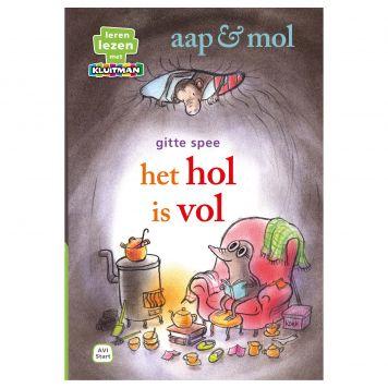 Boek AVI Start Aap En Mol Het Hol Is Vol Leren Lezen Met Kluitman