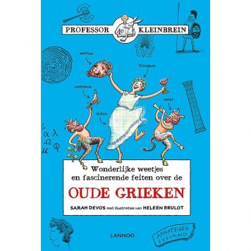 Boek Professor Kleinbrein De Oude Grieken