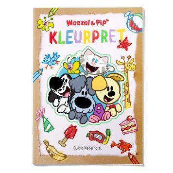Woezel En Pip Kleurpret Kleurboek