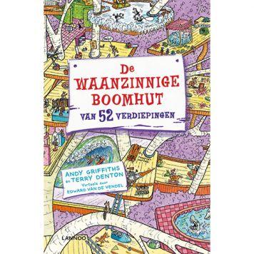 Boek De Waanzinnige Boomhut Van 52 Verdiepingen