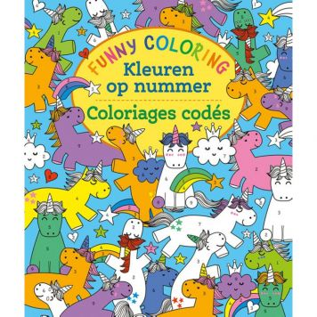 Kleurboek Kleuren Op Nummer