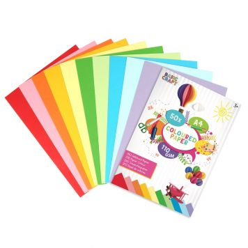 Papier A4 Gekleurd 50 Stuks