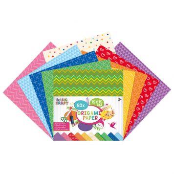 Origami Papier 15X15 Cm 50 Stuks