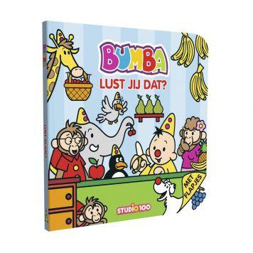 Bumba Kartonboekje Met Flapjes - Lust Jij Dat?