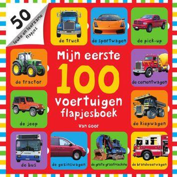 Boek Mijn Eerste 100 Voertuigen Flapjesboek