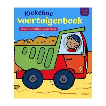 Boek Kiekeboe Voertuigenboek 1-3 Jaar