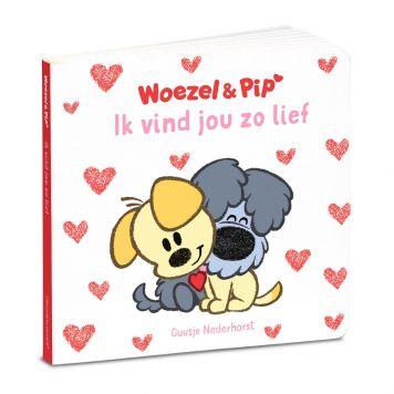 Boek Woezel En Pip Ik Vind Jou Lief Karton