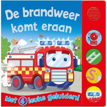 Boek Geluidenboek De Brandweer Komt Eraan