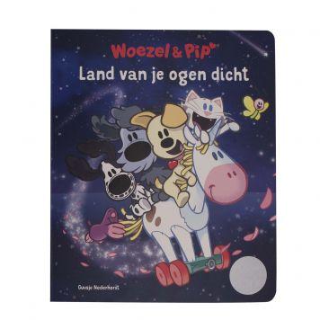 Boek Woezel En Pip Kartonboek Land Van Je  Ogen Dicht