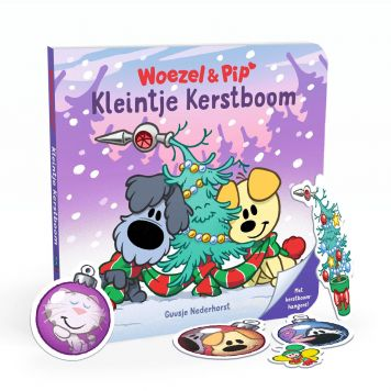 Boek Woezel & Pip Kleintje Kerstboom