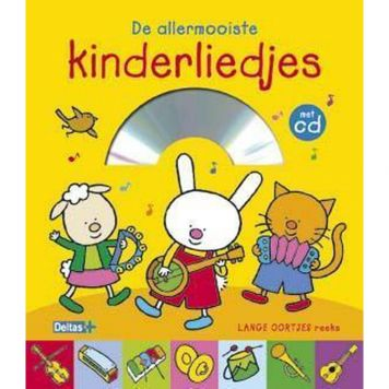 Boek Lange Oortjes De Allermooiste Kinderliedjes Met CD