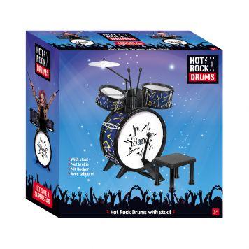 Hot Rock Drumstel Met Stoel 68 x 51 x 27 cm