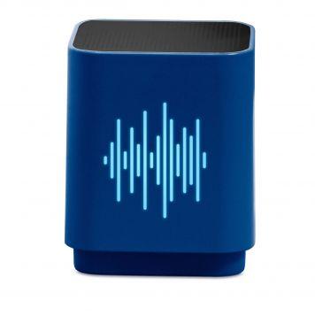 Speaker Bluetooth Led Equalizer Blue