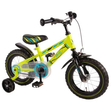 Fiets Electric Green 12 Inch