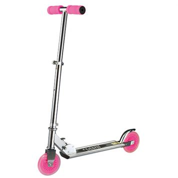 Step Scooter Aluminium Roze