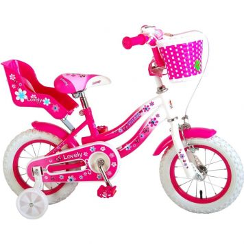 Fiets 12 Inch Lovely Pink
