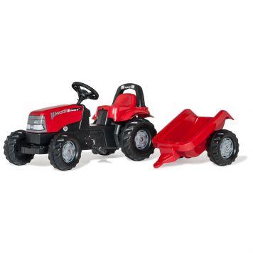 Traptractor Rolly Toys Case CVX 1170 Met Aanhanger