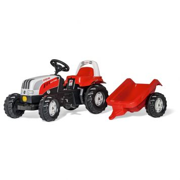 Traptractor Rolly Toys Steyr 6190CVT Met Aanhanger