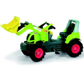 Traptractor Rolly Toys Claas 640 Met Frontlader