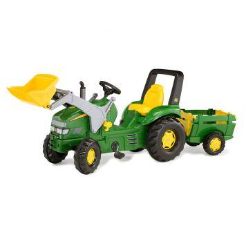 Tractor John Deere X-Trac + Aanhanger