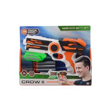 TackPro Crow Shooter II Met 6 Darts 23 cm