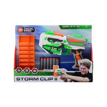 Tack Pro Storm Clip II met 6 round clip en 6 Dart