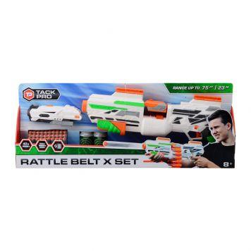 Tack Pro Rattle Belt X Met 40 Darts En Accessoires 50 Cm