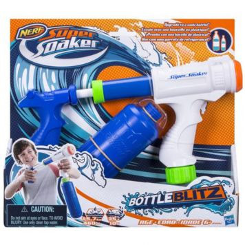 Waterpistool Nerf Super Soaker Bottle Blitz New