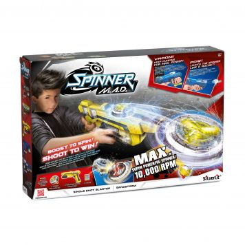 Spinner Mad Single Shot Blaster Geel