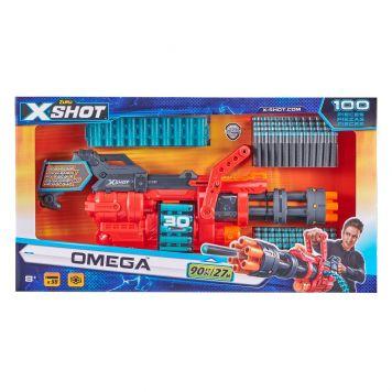 Zuru X-Shot Omega Blaster met 30 Dart-Belt en 98 Darts