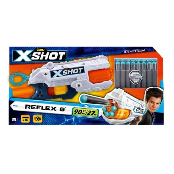 Zuru X-Shot Reflex 6 Blaster met 16 Darts