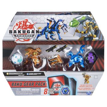 Bakugan BakuGear 4 Pack Season 2.0 Mix 3
